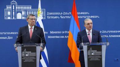 Photo of ԱԳ նախարար Զոհրաբ Մնացականյանի խոսքն Ուրուգվայի ԱԳ նախարարի հետ համատեղ մամուլի ասուլիսին