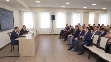 Photo of ԱԳՆ կենտրոնական ապարատի և օտարերկրյա պետություններում ՀՀ դիվանագիտական ծառայության մարմինների ղեկավարների ամենամյա համաժողովի մասնակիցների հանդիպումը Սփյուռքի գործերի գլխավոր հանձնակատար Զարեհ Սինանյանի հետ