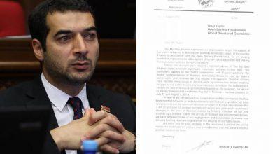 Photo of Կեղծված են և՛ ԱԺ պատգամավորի բլանկի ձևը, և՛ իմ ստորագրությունը. Հրաչյա Հակոբյանը մեկնաբանել է ռուսական կայքի հոդվածը