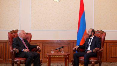 Photo of Արարատ Միրզոյանը հրաժեշտի հանդիպում է ունեցել դեսպան Պյոտր Սվիտալսկու հետ