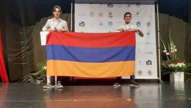 Photo of 2 արծաթե, 3 բրոնզե մեդալ աստղագիտութան միջազգային օլիմպիադայում