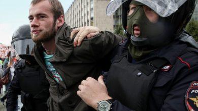 Photo of Մոսկվայում ազատ ընտրությունների պահանջով չարտոնված բողոքի ակցիա է ընթանում. մարդկանց զանգվածաբար բերման  են ենթարկում