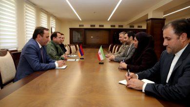 Photo of Պաշտպանության նախարարն ընդունել է Հայաստանում Իրանի դեսպանին
