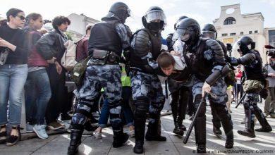Photo of ՌԴ-ում տեղի ունեցած բողոքի ակցիայի ժամանակ բերման է ենթարկվել 352 մարդ, 256-ը՝ Մոսկվայում