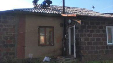 Photo of Ուժեղ քամին ավերածություններ է արել Շիրակի մարզի Մուսայելյան գյուղում
