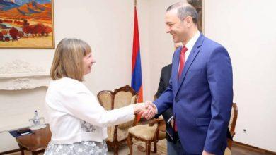 Photo of ԱԽ քարտուղարն ընդունեց Հայաստանում ԱՄՆ արտակարգ և լիազոր դեսպան Լին Թրեյսիին