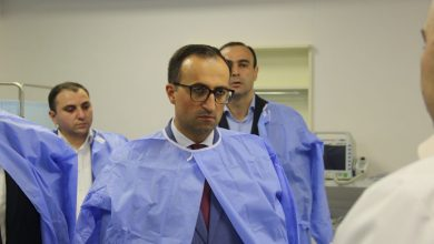 Photo of Արսեն Թորոսյանն այցելել է «Նորք–Մարաշ» բժշկական կենտրոն