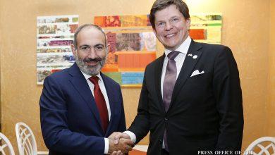 Photo of Премьер-министр провел рабочий обед-встречу с делегацией Риксдага Швеции