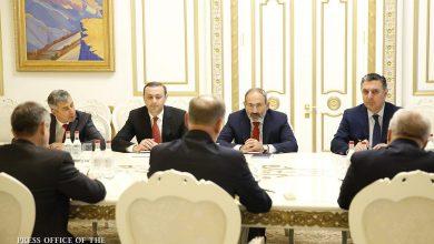 Photo of Վարչապետն ընդունել է ՌԴ Անվտանգության խորհրդի քարտուղարին