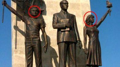 Photo of Թուրքիայում քաղաքապետը Աթաթուրքի հուշարձանի կողքին իր ու կնոջ արձանն է կանգնեցրել
