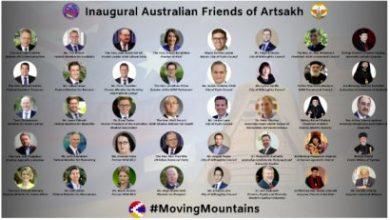Photo of 40 влиятельных австралийцев присоединились к группе «Австралийские друзья Арцаха»