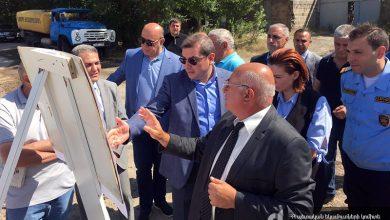 Photo of ՊԵԿ նախագահի գլխավորած աշխատանքային խումբը հերթական այցով եղել է Գյումրիում