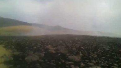 Photo of Արայի լեռան ստորոտում բռնկված հրդեհի մակերեսն հասնում է մոտ 150 հեկտարի