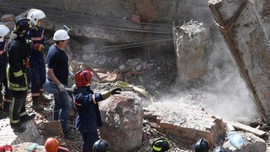 Photo of В Новосибирске на рабочих обрушилась стена здания