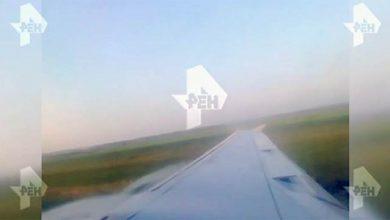 Photo of Հրապարակվել են А321 օդանավի վթարային վայրէջքի կադրերը