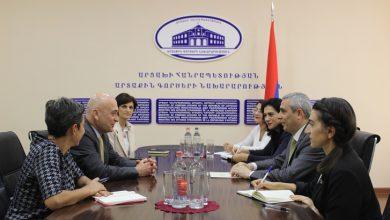 Photo of Մասիս Մայիլյանն ընդունել է ՀԲԸՄ պատվիրակությանը