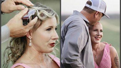 Photo of Ամուսինը սափրում է հիվանդ կնոջ գլուխը. էմոցիոնալ ֆոտոսեսիա, որը մեծ արձագանք է ստացել
