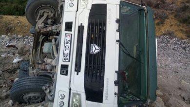 Photo of Չնախատեսված վայրում շինաղբ դատարկող բեռնատարը կողաշրջվել է