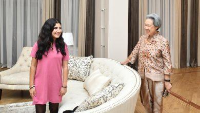 Photo of Анна Акопян пригласила супругу премьер-министра Сингапура на ужин
