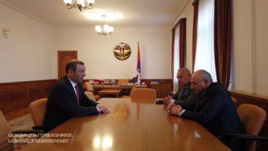 Photo of Քննարկվել են անվտանգության ոլորտում հայկական երկու հանրապետությունների փոխգործակցությանը վերաբերող հարցեր