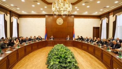 Photo of ՀՀ դիվանագիտական ծառայության մարմինների ղեկավարների ամենամյա համաժողովի մասնակիցները հանդիպել են Արցախի ԱԳՆ անձնակազմին