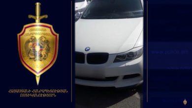 Photo of ՃՈ ծառայողները հայտնաբերել են հանդիպակաց դուրս եկած և հետիոտնին վրաերթի ենթարկած «BMW»-ն