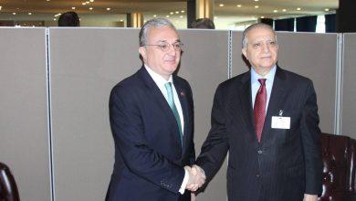 Photo of Զոհրաբ Մնացականյանը հանդիպել է իրաքցի գործընկերոջը` Մուհամմադ Ալի Ալ-Հաքիմին