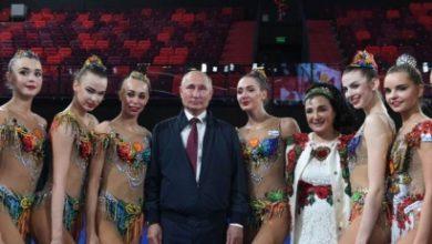 Photo of Վլ. Պուտինը Գեղարվեստական մարմնամարզության պալատում հանդիպել է մարզուհիների հետ