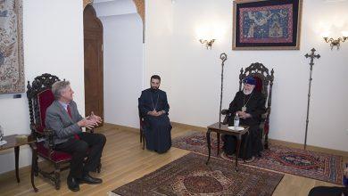 Photo of Католикос Всех Армян принял сенатора США Фрэнка Паллоне