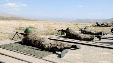 Photo of ՀՀ ԶՈՒ գլխավոր շտաբի պետը հետևել է կրակային պատրաստության պարապմունքներին