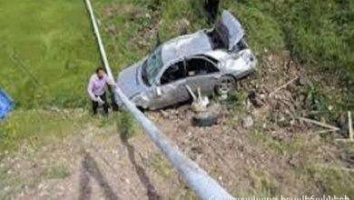 Photo of Քանաքեռավան գյուղի մոտակայքում ավտոմեքենան ընկել է ձորը. կա տուժած