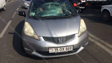 Photo of Երևանում ՀՀ ՊՆ N զորամասի 25-ամյա ծառայողը Honda-ով վրաերթի է ենթարկել հետիոտնին