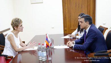 Photo of Մարդու իրավունքների պաշտպանը ծրագիր կիրականացնի ՀՀ-ում Բուլղարիայի դեսպանատան հետ
