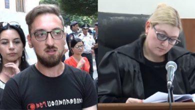 Photo of Суд удовлетворил ходатайство об избрании ареста в качестве меры пресечения в отношении Нарека Мутафяна