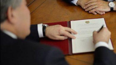 Photo of Նախագահ Արմեն Սարգսյանը ստորագրել է մի շարք օրենքներ