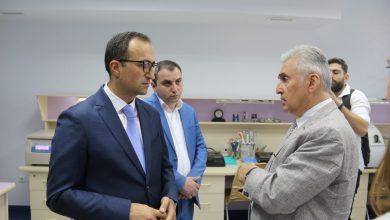 Photo of Արսեն Թորոսյանն այցելել է Յոլյանի անվան արյունաբանական կենտրոն