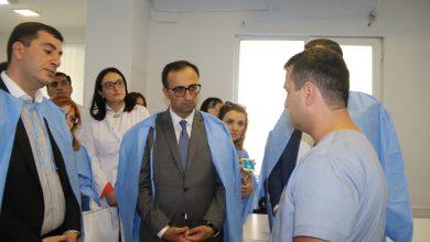 Photo of Արսեն Թորոսյանն այցելել է նախարարության ենթակայությամբ գործող «Սուրբ Գրիգոր Լուսավորիչ» ԲԿ