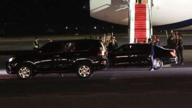 Photo of Президент Ирана Хасан Роухани прибыл в Армению