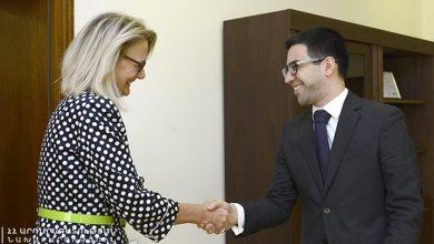 Photo of Ռուստամ Բադասյանը ամերիկացի գործընկերոջ հետ քննարկել է համագործակցության զարգացման նոր հնարավորությունները