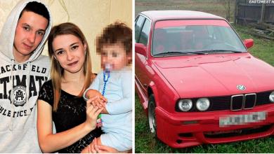 Photo of В Беларуси 2-летняя девочка случайно убила маму, нажав на одну кнопку в машине