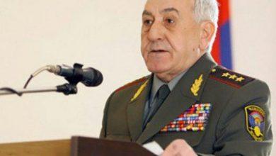 Photo of Экс-министр обороны РА генерал-лейтенант Микаел Арутюнян снят с розыска на территории РФ
