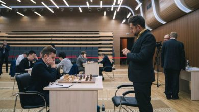 Photo of Левон Аронян черными победил россиянина Максима Матлакова