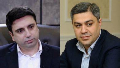 Photo of «Ванецян был и останется моим другом отныне и навсегда», — вице-спикер Парламента РА Ален Симонян
