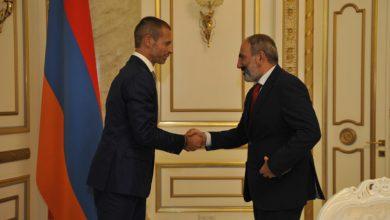 Photo of Վարչապետը ընդունել է ՈւԵՖԱ-ի նախագահ Ալեքսանդր Չեֆերինին
