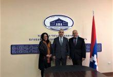 Photo of Министр иностранных дел Арцаха встретился с делегацией Армянской Ассамблеи Америки