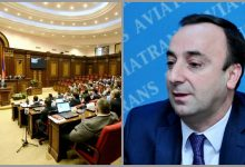 Photo of ԱԺ-ն ընդունեց Հրայր Թովմասյանի լիազորությունները դադարեցնելու հարցով ՍԴ դիմելու նախագիծը