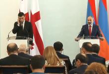 Photo of Հայաստանի ու Վրաստանի վարչապետների հանդիպումը