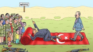 Photo of Գերմանական մամուլը ծաղրանկարում պատկերել է Սիրիայի հյուսիսում ստեղծված իրավիճակը