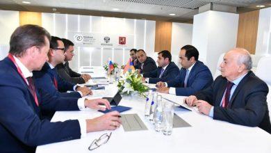 Photo of Սուրեն Պապիկյանը Մոսկվայում հանդիպում է ունեցել ՌԴ էներգետիկայի նախարար Ալեքսանդր Նովակի հետ