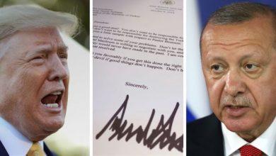 Photo of Эрдоган выкинул письмо президента США. Трамп писал ему: «Не будь дураком!»